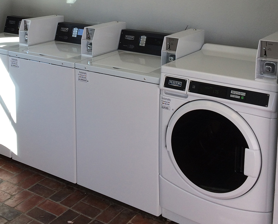 Coin Operated Laundry Units in NC, VA, DC, MD, SC